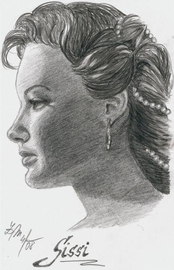 Romy Schneider par Mithril
